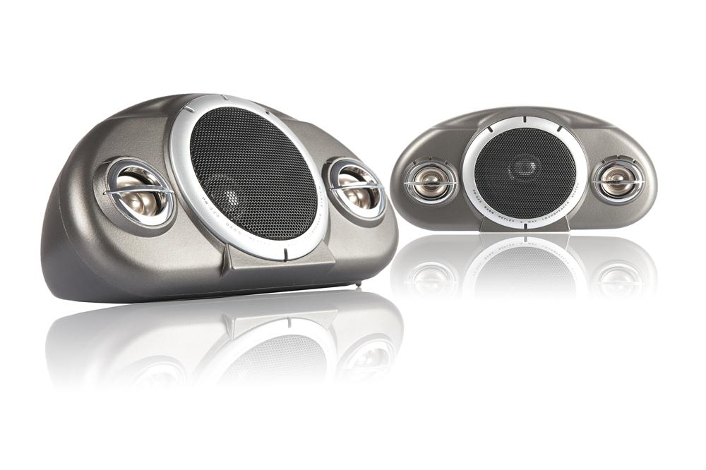 Buy Boschmann 120 Watt 3-Way Car Audio Box Speakers Pair in NZ New Zealand.