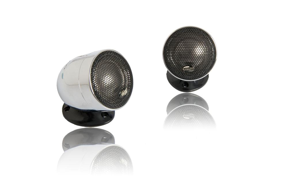 "Buy Boschmann 1"" 200 Watt Chrome Tweeters Pair in NZ New Zealand."