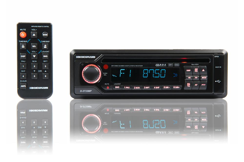 Buy Boschmann CD/CDRW/MP3/WMA/Front Aux/USB/SD AM/FM Headunit in NZ New Zealand.