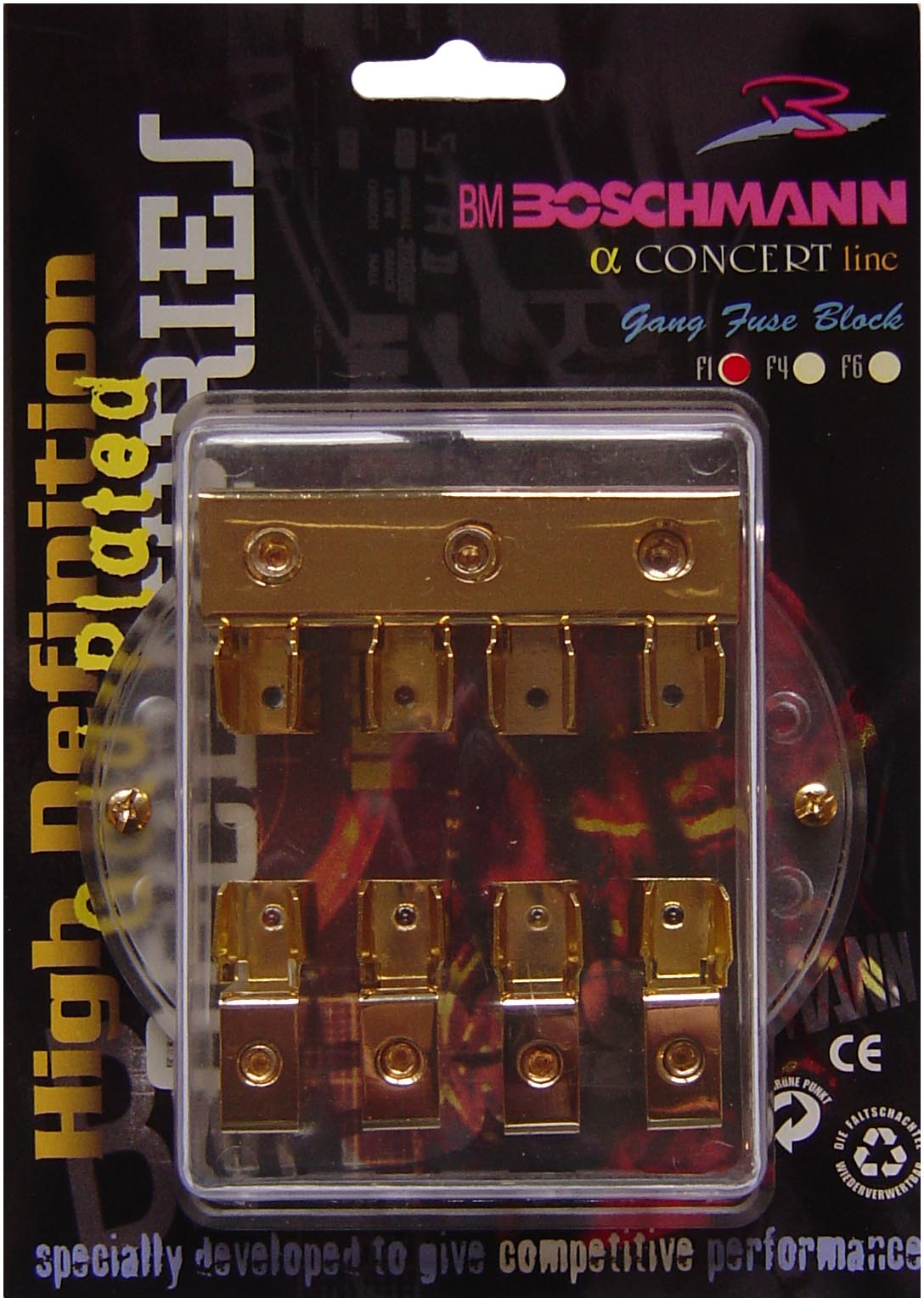 Boschmann Quad Fuse Holder Car Audio Equipmentquality Wiring Box Nz Click Image To Enlarge